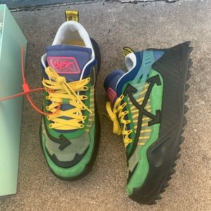 Off-White ODSY-1000 Green Black size 12.5